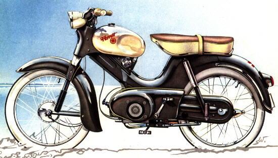 kreidler florett moped 1958 1959. Black Bedroom Furniture Sets. Home Design Ideas