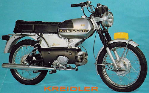 Moped RMC 1975 Holland