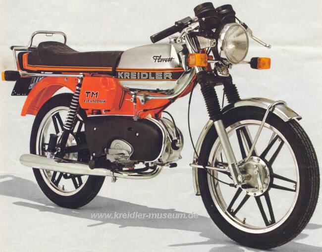 Kreidler Florett TM 1978 Griechenland