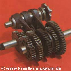 Kreidler Getriebe 5-Gang