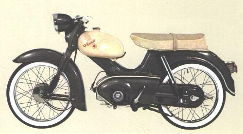 kreidler florett mokick 1964 1966. Black Bedroom Furniture Sets. Home Design Ideas