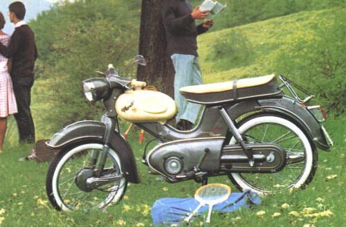 Kreidler Florett Super 5 - Gang 1965